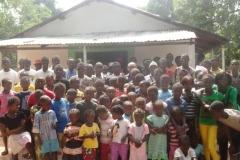 Inauguração da Igreja da aldeia de Panti Bu Jubi - Dez 2014