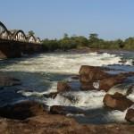 Rio Corumbal ( Saltinho) – Região de Tombalí – Guiné-Bissau | Foto: José Valberto Teixeira Oliveira - 2009