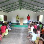 Igreja da Aldeia de Camuconde – Sul de Guiné-Bissau Foto: José Valberto Teixeira Oliveira - Outubro de 2012
